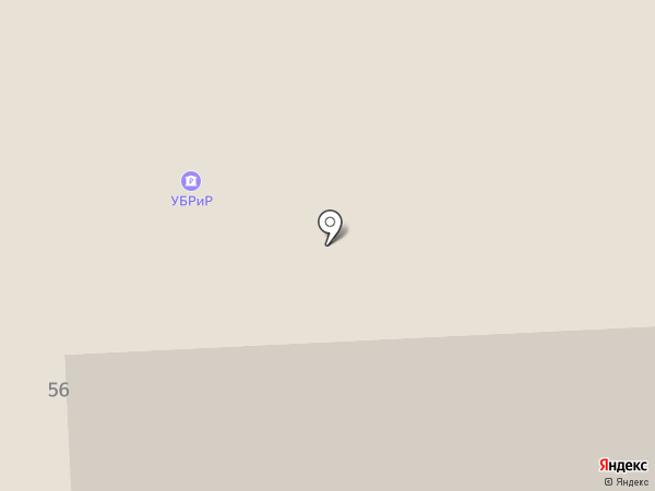 Межрайонный отдел №17 Федеральной кадастровой палаты, Управление Федеральной службы государственной регистрации на карте Нижнего Тагила