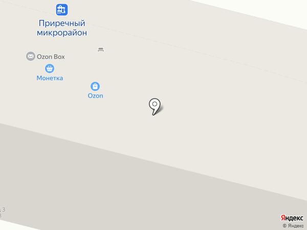 Равис на карте Нижнего Тагила
