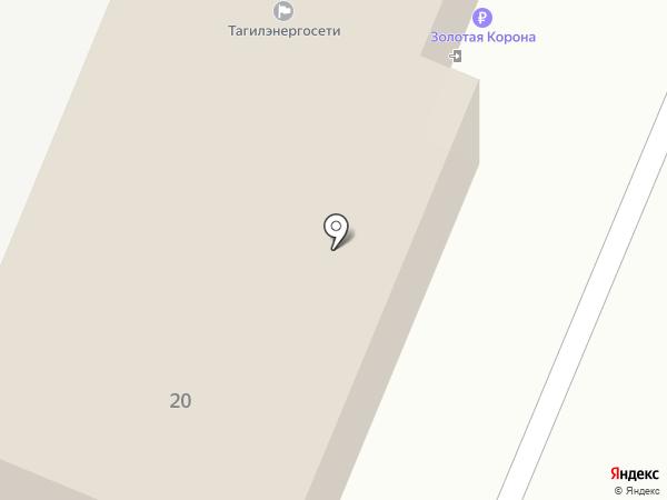 Аварийно-диспетчерская служба электросетей Центрального района на карте Нижнего Тагила