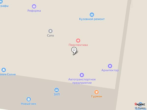 Феникс на карте Первоуральска