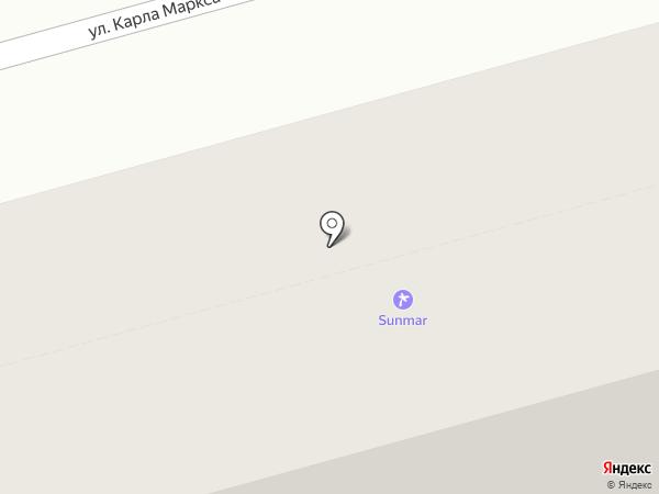Sanmar на карте Нижнего Тагила