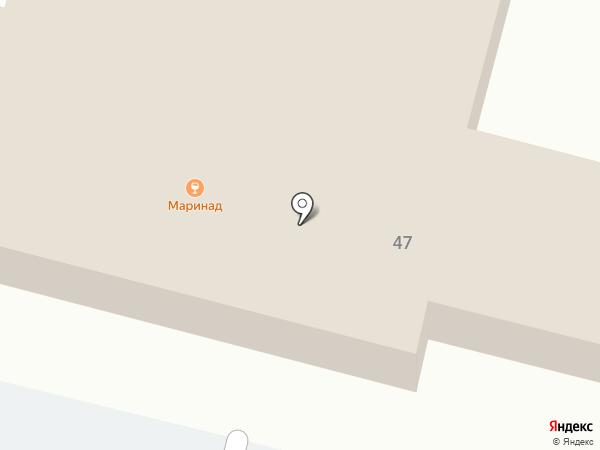 Маринад на карте Нижнего Тагила