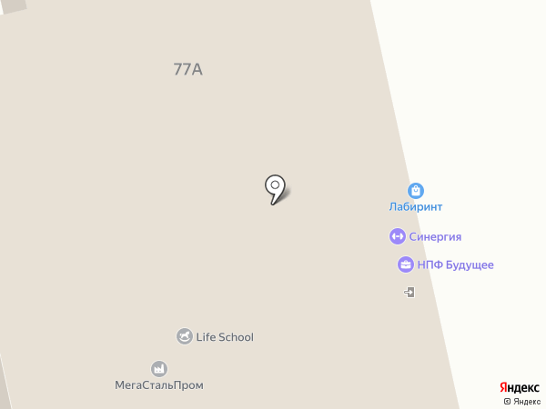Арина Родионовна на карте Нижнего Тагила