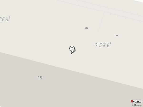 Парикмахерская на Красной на карте Нижнего Тагила