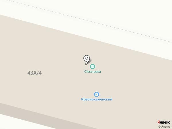 Краснокаменский на карте Нижнего Тагила