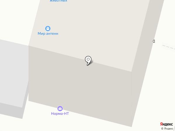 Норма-НТ на карте Нижнего Тагила
