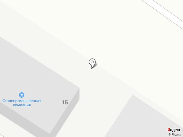 Сталепромышленная компания на карте Нижнего Тагила
