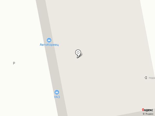 Автомагазин для УАЗ на карте Нижнего Тагила