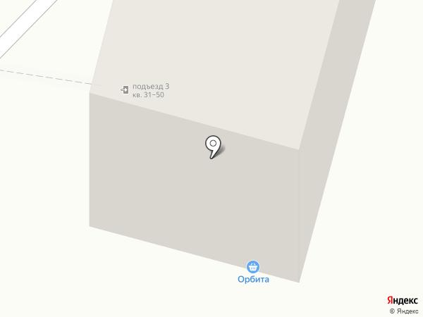 Орбита на карте Нижнего Тагила