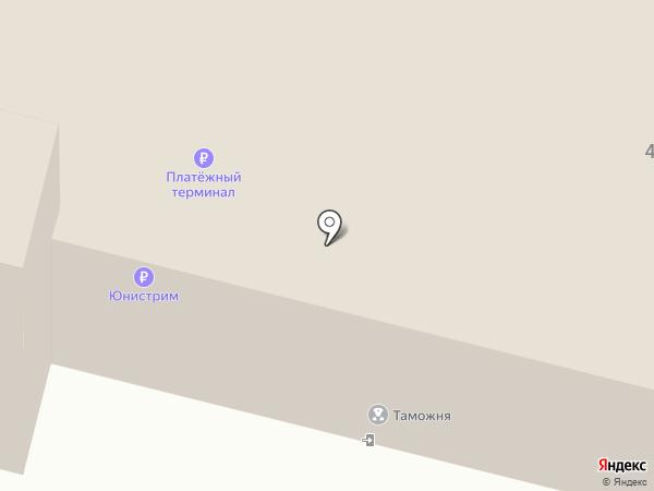 Нижнетагильский таможенный пост на карте Нижнего Тагила