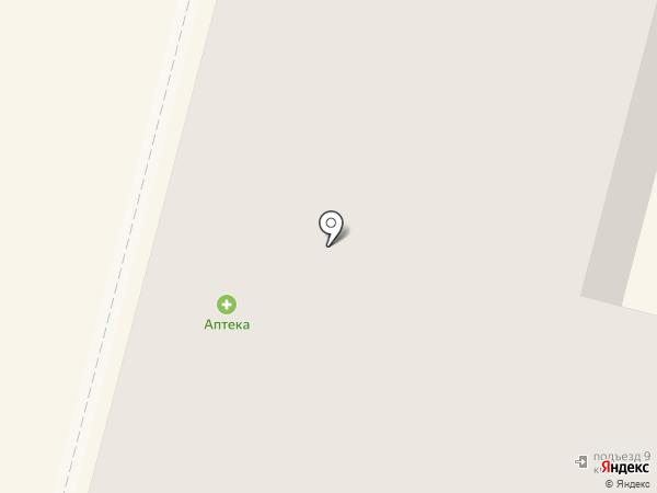 Аэлита на карте Нижнего Тагила