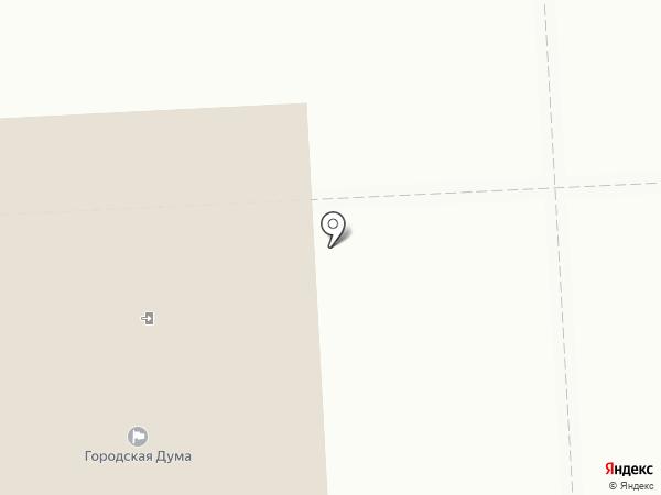 Контрольно-ревизионное управление на карте Нижнего Тагила