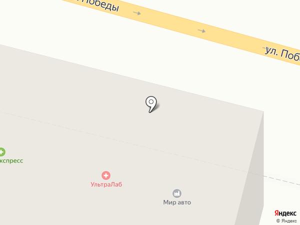 Хеликс на карте Нижнего Тагила