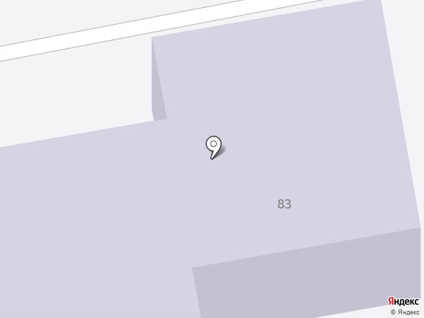 Детский сад №43 на карте Нижнего Тагила