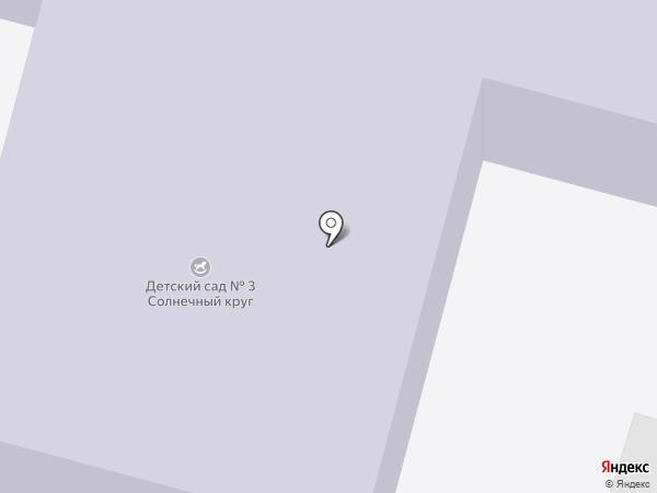 Детский сад №3 на карте Нижнего Тагила
