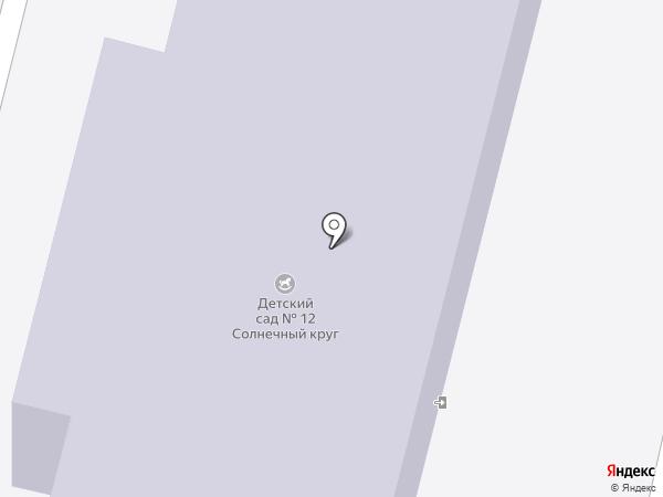 Детский сад №12 на карте Нижнего Тагила