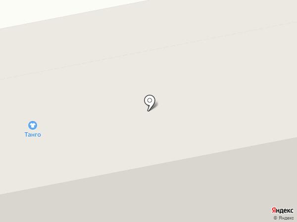 ТангО на карте Нижнего Тагила
