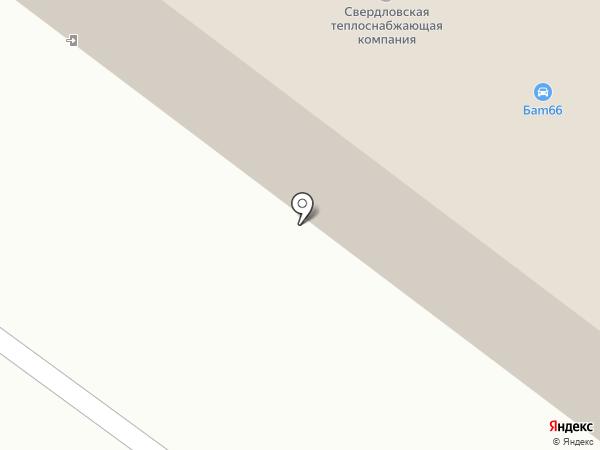 ДОСААФ России на карте Первоуральска