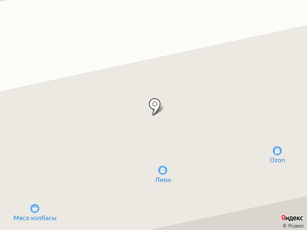 Лион на карте Нижнего Тагила