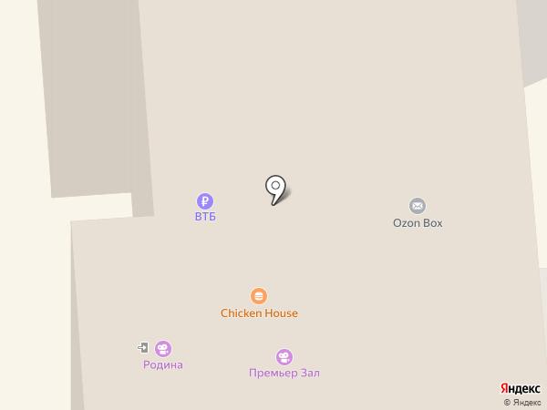 Цветкофф на карте Нижнего Тагила