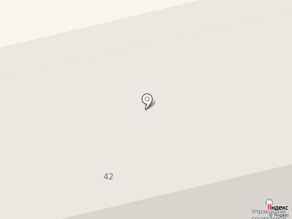 Управление социальной политики по Ленинскому району на карте Нижнего Тагила