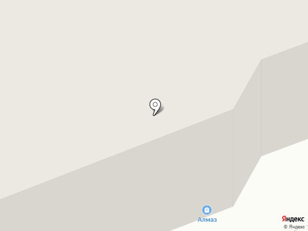 Алмаз на карте Нижнего Тагила