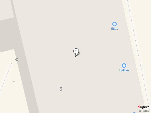 Школа красоты Анны Ворожцовой на карте Нижнего Тагила