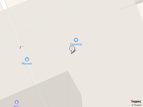 Электростат на карте Нижнего Тагила