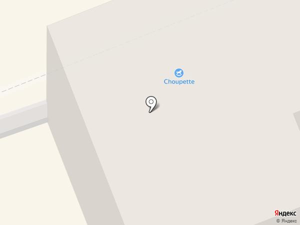 Интерфейс на карте Нижнего Тагила
