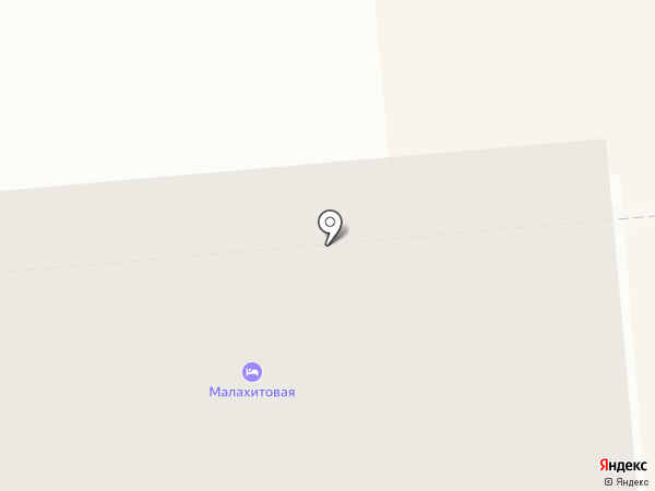Малахитовая на карте Нижнего Тагила