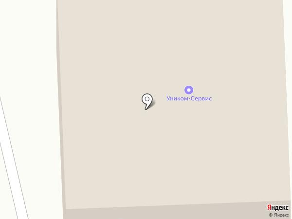 Уником-Сервис на карте Первоуральска