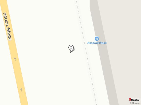 Винт на карте Нижнего Тагила