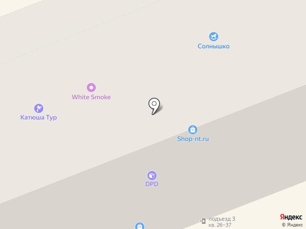 Фианит на карте Нижнего Тагила