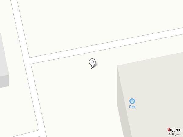 Лев на карте Нижнего Тагила