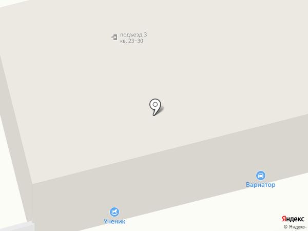 Вариатор на карте Нижнего Тагила