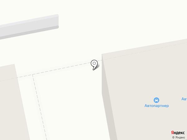 Автопартнер на карте Нижнего Тагила