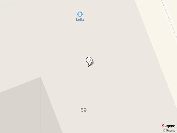 Ингосстрах, СПАО на карте Нижнего Тагила