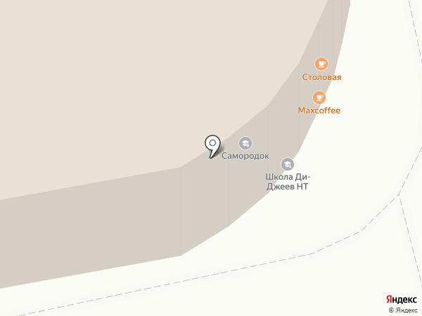 Самородок на карте Нижнего Тагила