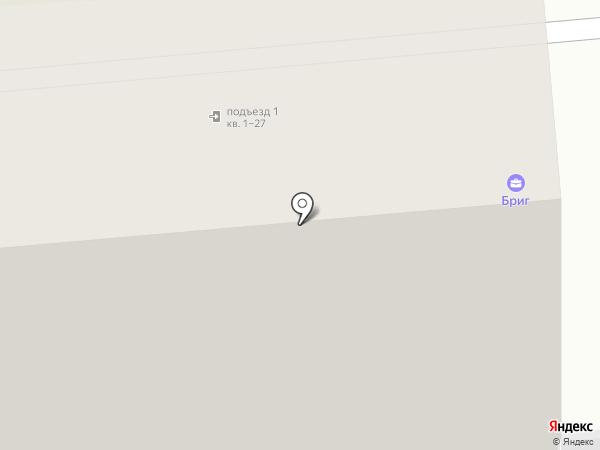Бриг на карте Нижнего Тагила
