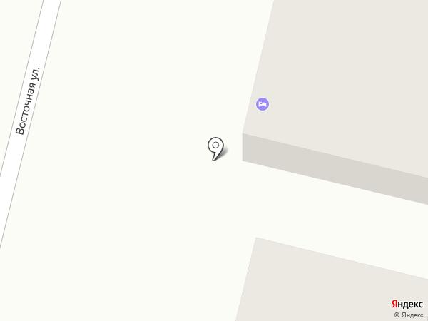 На Восточной на карте Нижнего Тагила