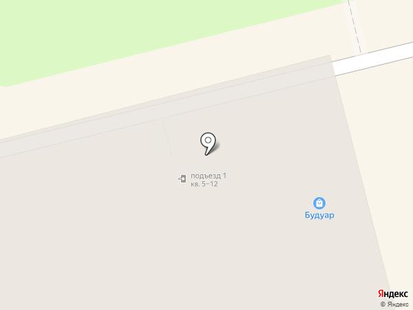 Будуар на карте Нижнего Тагила