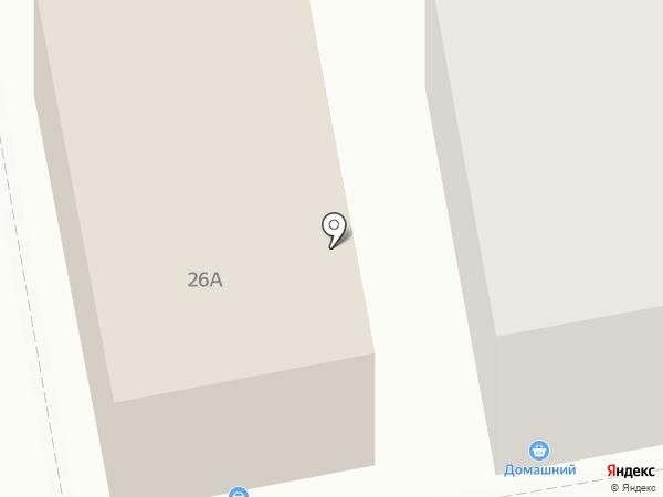 Домашний на карте Нижнего Тагила