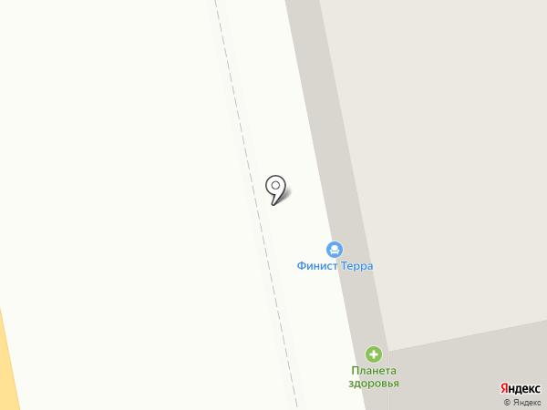 Беркана на карте Нижнего Тагила