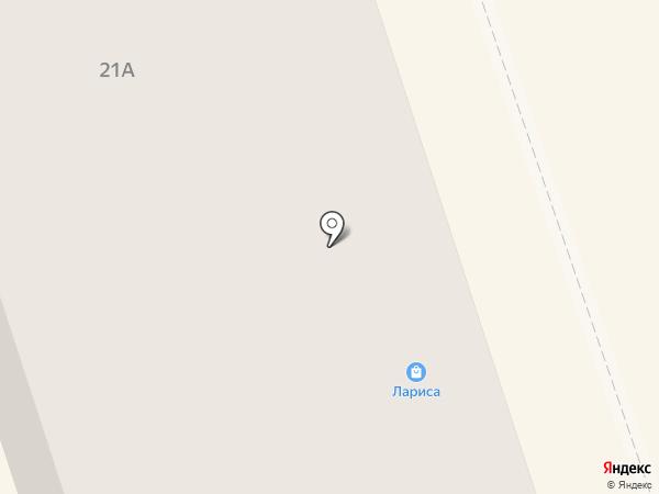Лариса на карте Нижнего Тагила