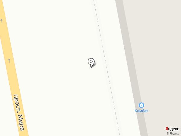 Комбат на карте Нижнего Тагила
