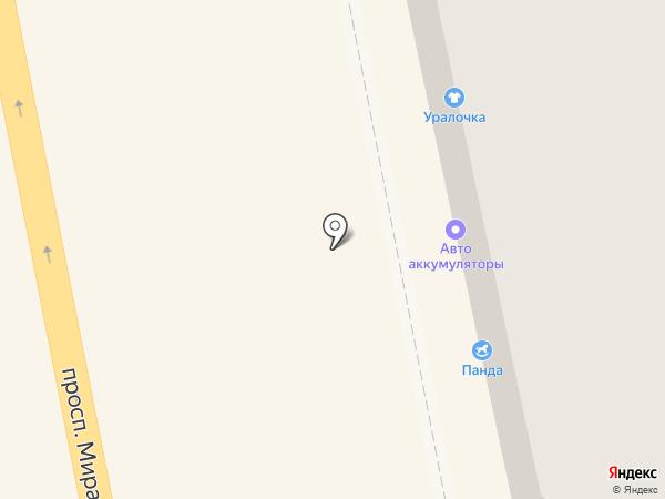 Янтра на карте Нижнего Тагила