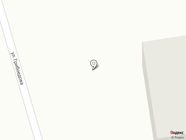 Грибоедов на карте Нижнего Тагила