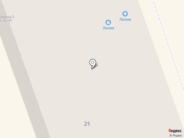 Лилия на карте Нижнего Тагила