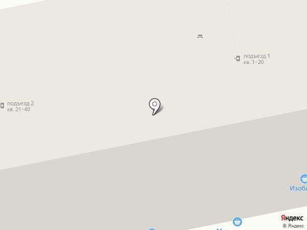 Мясная лавка на карте Нижнего Тагила