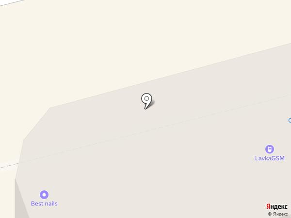 Крокус на карте Нижнего Тагила